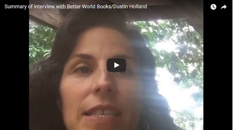 Summary of interview with Dustin Holland at Better World Books