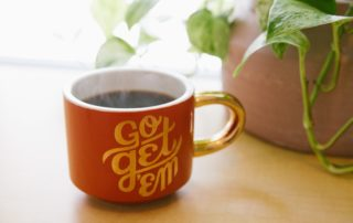 Start your day coffee mug
