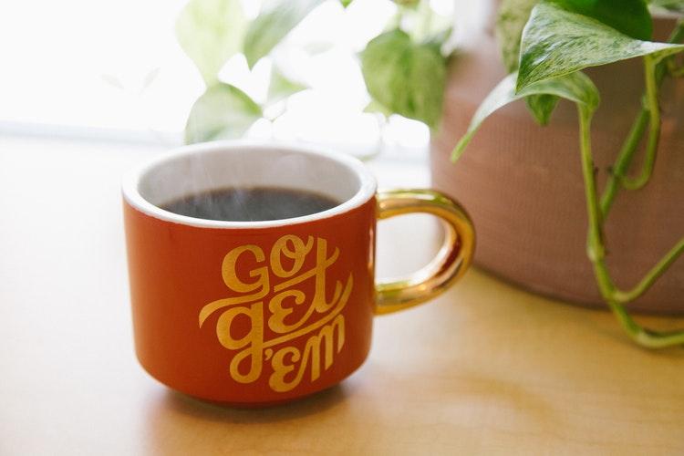Start your day coffee mug