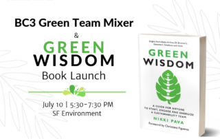Green Wisdom Launch Event
