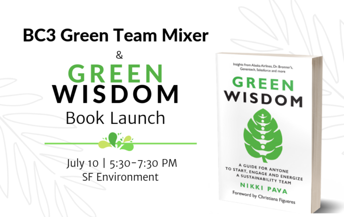 Green Wisdom Launch Event